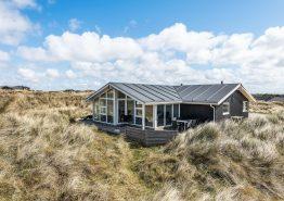 Schönes Ferienhaus auf Hügelgrundstück nah an Søndervig (Bild 1)