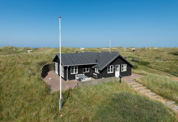 Schön gelegenes Ferienhaus mit Aussicht über die Dünen