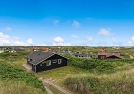 Ferienhaus am Strand mit Meerblick und schnellem Internet