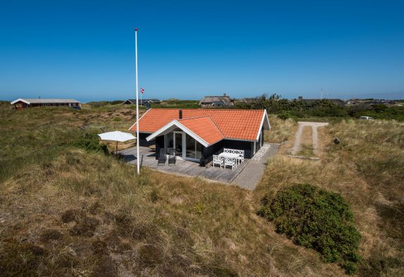 Gemütliches Ferienhaus auf strandnahem Dünengrundstück