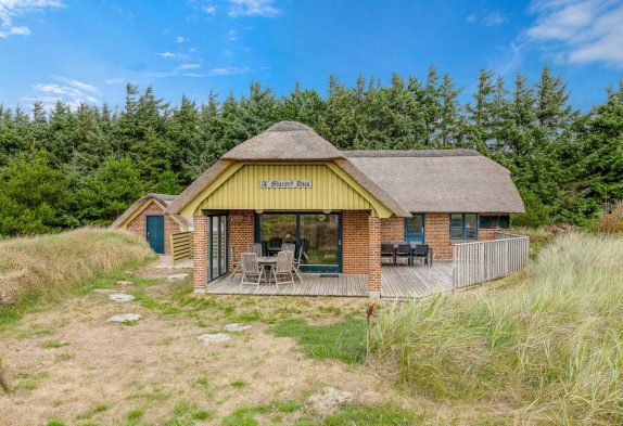 Charmantes Reetdachhaus mit Sauna in schöner Naturumgebung