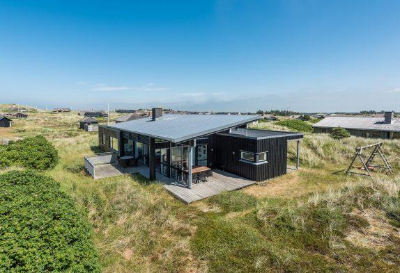 Ein Luxusferienhaus nah an Søndervig Strand