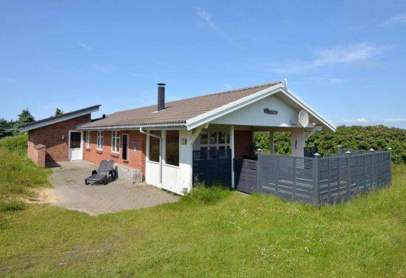 Ferienhaus mit geschlossener & überdachter Terrasse