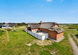 Ferienhaus mit geschlossener Terrasse und Wärmepumpe