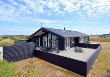 Luksussommerhus i Søndervig med sauna og boblebad