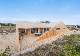 Luxuriöses Ferienhaus in Søndervig mit Außendusche 350 m vom Meer