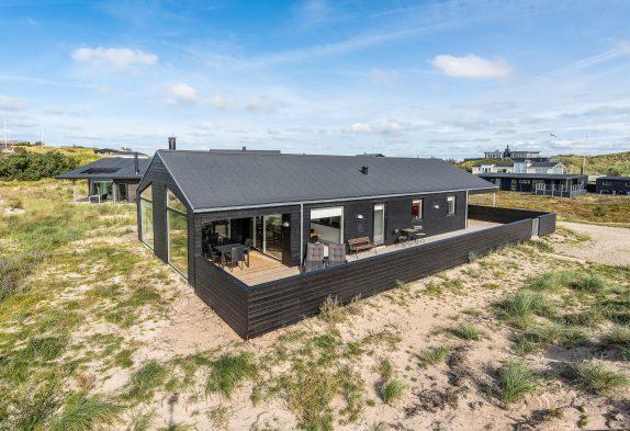 5-stjernet hus til 6 personer med strandnær beliggenhed