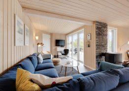 Schönes Ferienhaus mit ungestörter Holz-Terrasse (Bild 3)