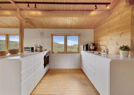 Wunderschönes Blockhaus mit Meerblick, nur 50 Meter zum Strand (Bild 3)
