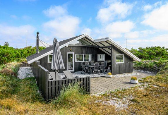 Naturnahes Ferienhaus für 4 Personen mit Kamin und gratis WLAN