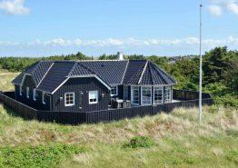 Luxushaus in Søndervig mit schöner Terrasse & Außendusche