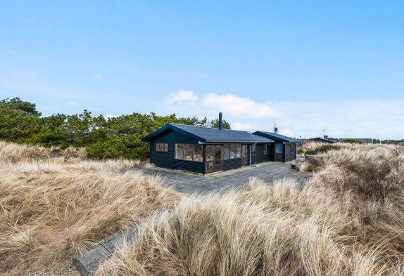 Kleines aber feines Ferienhaus für 6 Personen mit Sauna und Kamin