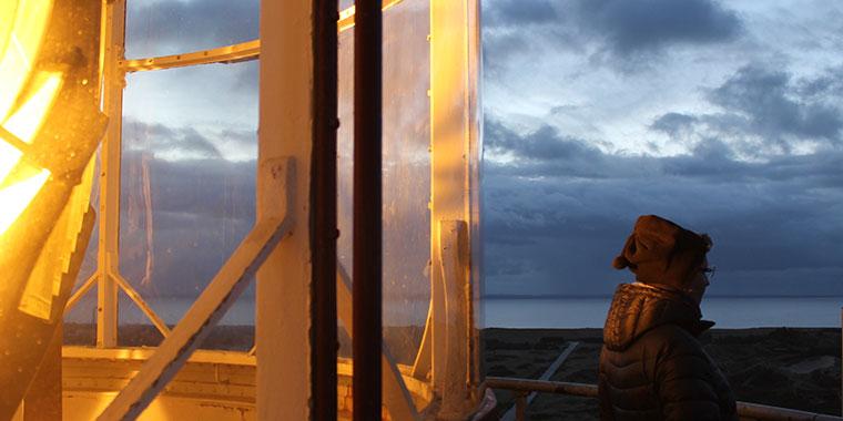 Det fantastiske lys fra fyrtårnet - oplevet på nærmeste hånd