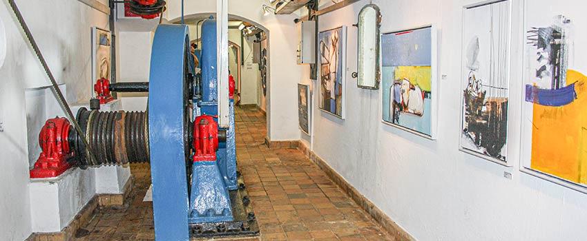 Kunst i Slusen - Ausstellung unter der Hvide Sande Schleuse