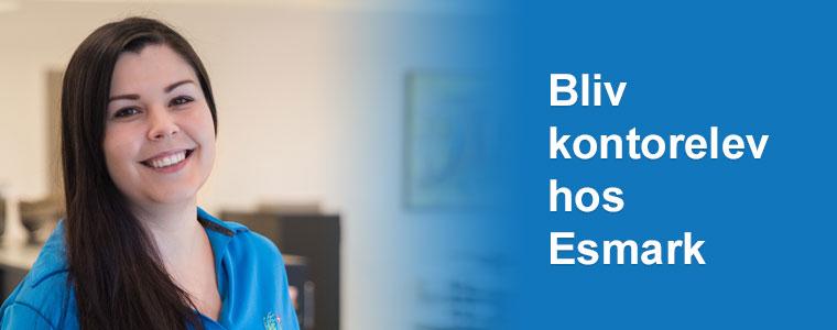 Bliv kontorelev hos Esmark - klik her og læs jobopslaget.