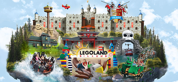 Book sommerhus hos Esmark og få 25 % rabat på alle LEGOLAND® billetterne!
