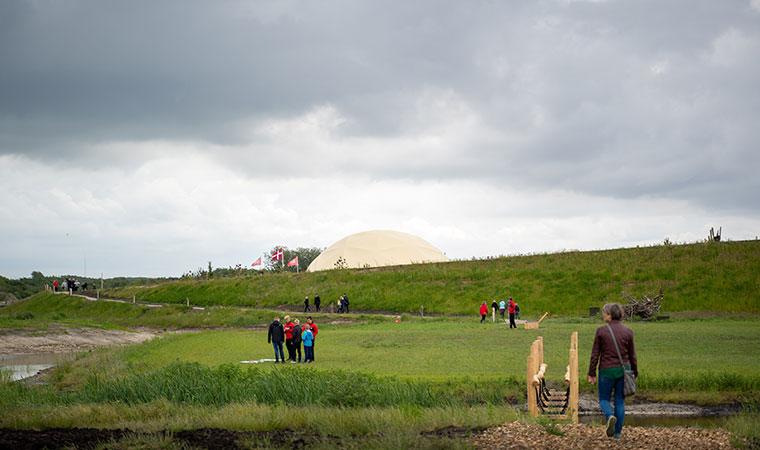 Die Erlebnisarena Naturkraft bei Ringkøbing verfügt über 45 Hektar.