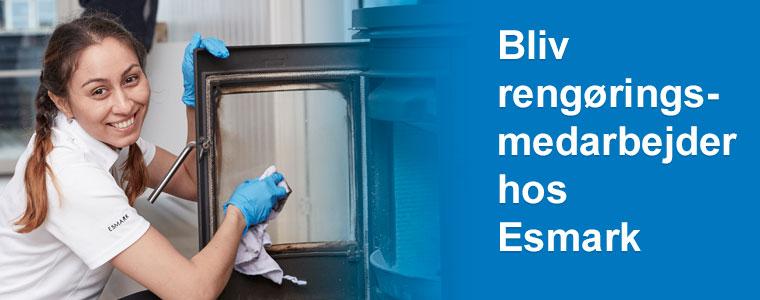 Rengøringsmedarbejder - job hos Esmark