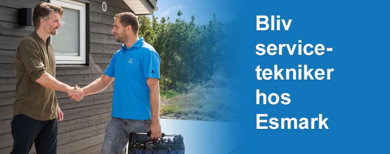 Servicetekniker hos Esmark - søg allerede i dag