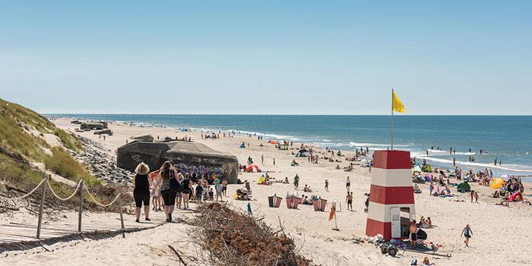 Danmarks billigste strand Søndervig Strand
