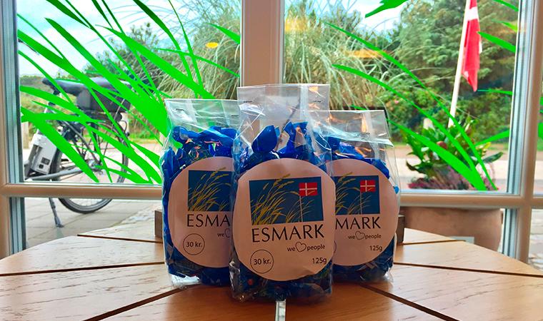 Esmark bolsjer - nu til salg!