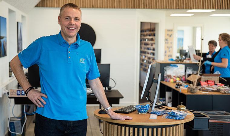 Thomas Christiansen, ny salgs- og marketingdirektør hos Esmark