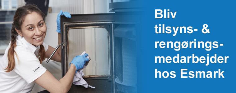 Bliv tilsyns- og rengøringsmedarbejder hos Esmark