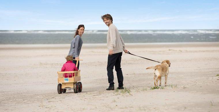 Hunde am Strand willkommen