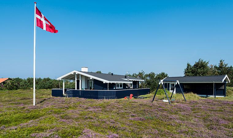 Ferienhaus B2135 mit Fahne