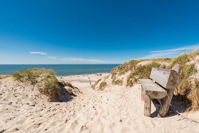Vestkystens skønne strand