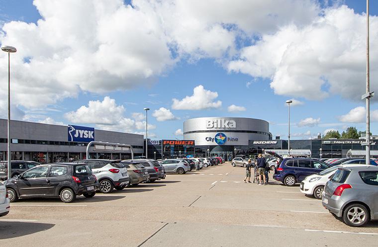 Bilka in Esbjerg - Dänisches Einkaufscenter