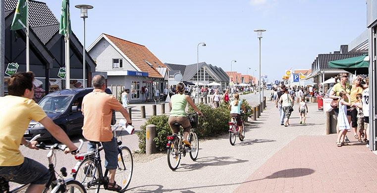 Cyklister i Blåvand