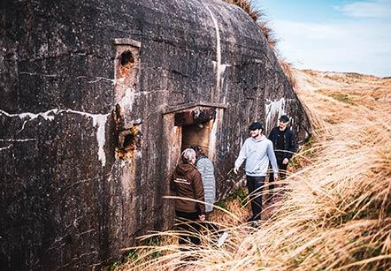 Bunkertour zur Houvig Festung