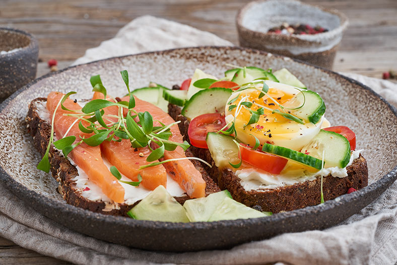 Smørrebrød in Dänemark