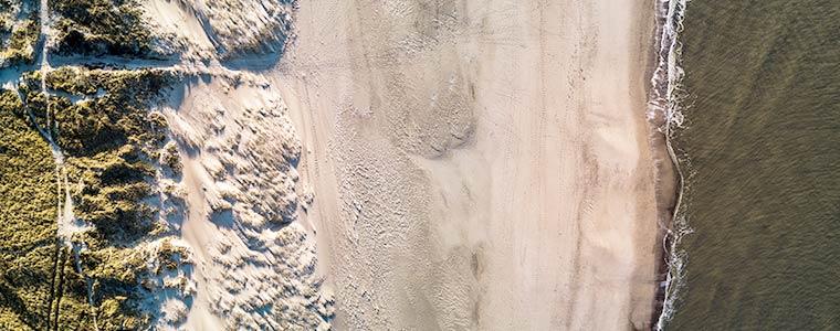Nordseeküste von Oben