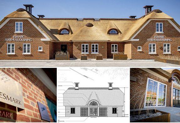 Esmark Feriehusudlejning bygger nyt kontor i Henne Strand
