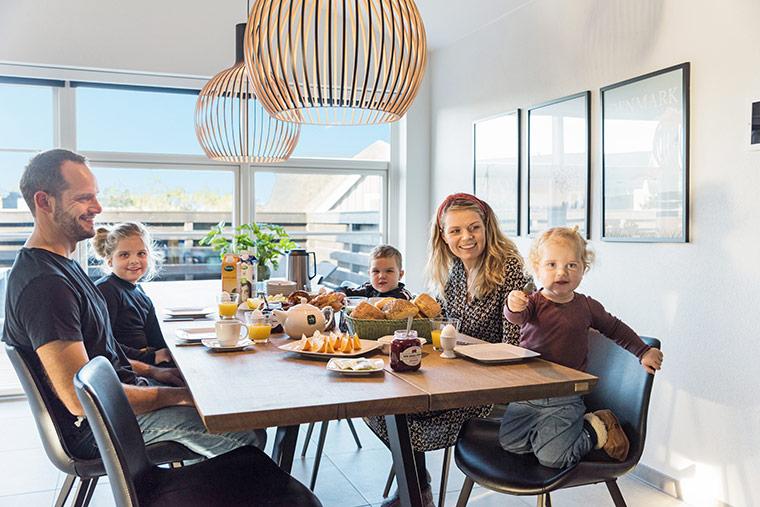 Familienfreundlicher Urlaub im Ferienhaus mit Kindern in Dänemark