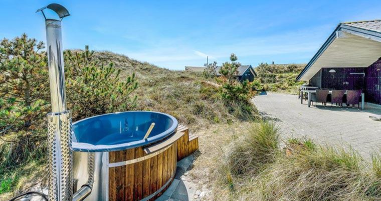 Ferienhaus mit Badetonne in Dänemark (B2857)