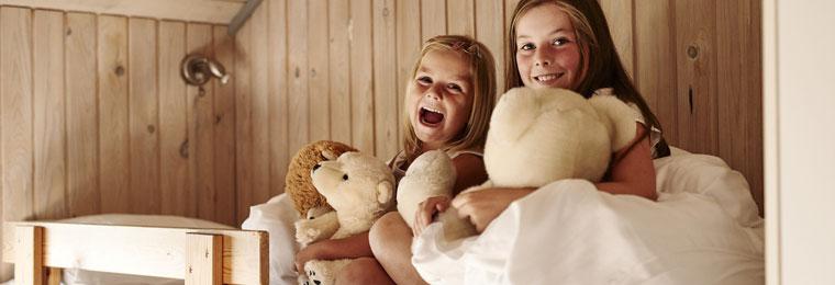 Urlaub mit Kindern im Ferienhaus an der dänischen Nordsee