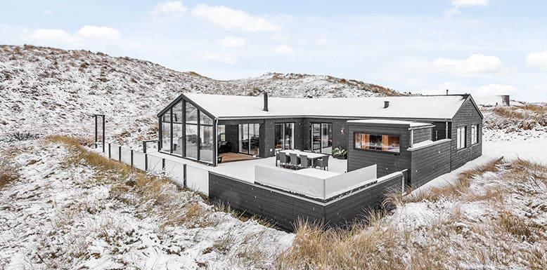 Urlaub im Ferienhaus im Winter