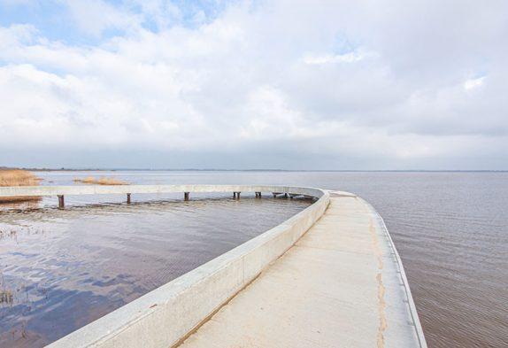 Der Filsø zwischen Henne Strand und Houstrup