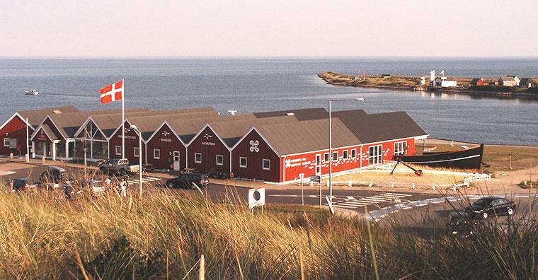 Fiskeriets Hus museet og akvarium i Hvide Sande