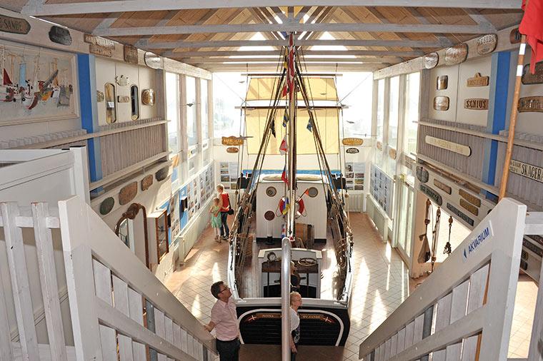 Fiskeriets Hus Hvide Sande Museet og Akvarium