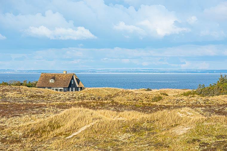 Ferienhaus an der Nordsee im Frühjahr - Ostern
