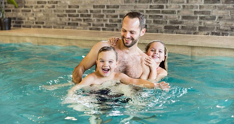 Gode aktiviteter for børn - Svømmehaller og badelande