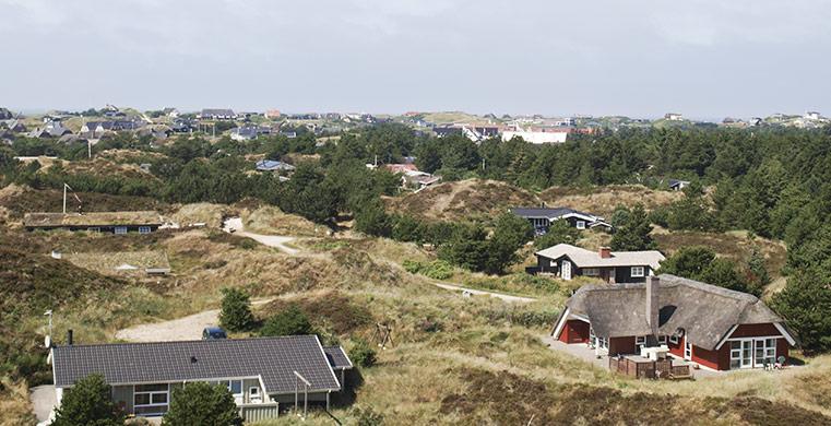 Sommerhuse i Vejers Strand