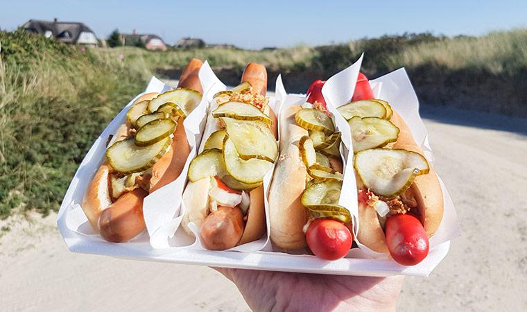 Der hot dog in dänemark ist teil der dänischen kultur