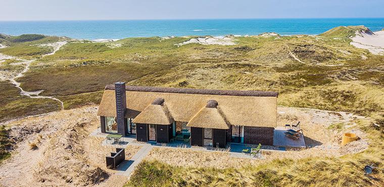 Neugebaute Ferienhäuser in schöner Umgebung