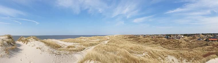 Vejers Strand ved Vesterhavet