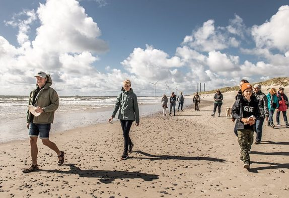 Indsamling af strandaffald - Esmark - omhu